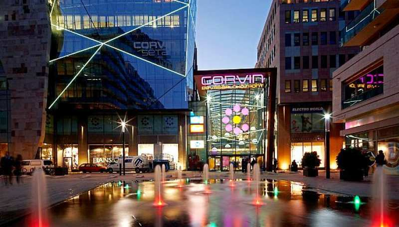 Топ 10 Торговые центры Будапешта